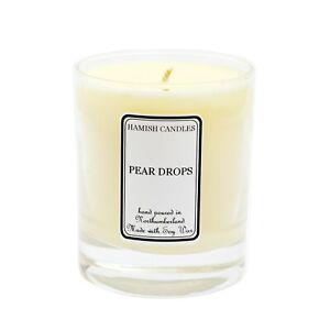 Pear Drops - Personalised Soy Wax Candle - 20cl