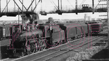 Canadian Pacific (CP) Engine 2008 at Calgary in 1939 - 8x10 Photo