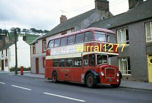 6x4 Bus colour photograph Western SMT Lodekka RAG402