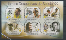 LM81406 Mozambique 2011 athletes sports good sheet MNH