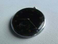 Vintage Art Deco Olma slimeline pocket watch c.1920s spares or repairs