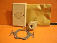 (2) NEW VINTAGE WESTERN ELECTRIC 4 PIN MOD FLUSH MOUNT JACK/OUTLET. 625B50 IVORY