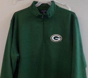 Green Bay Packers Heavyweight 1/4 Zip Sweatshirt XS-4XL, LT-4XLT New