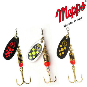 Mepps Black Fury Fishing spinners. Various colors , Four size. Perfect for trout