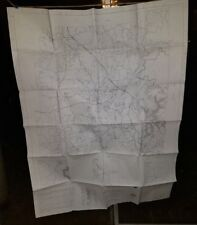 """Pre-owned ~ BARTOW COUNTY, GA General Highway Map (2008, 36"""" x 48"""", set of 3)"""