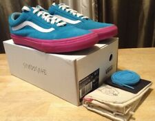VANS Golf Wang Syndicate Old Skool Blue /Pink AUTHENTIC - Size 9