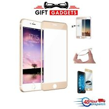 Full Curved 3D Tempered Glass Screen Protector For iPhone 7 4.7'' Gold