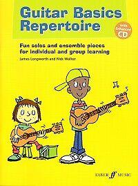 GUITAR BASICS REPERTOIRE Longworth/Walker + CD*