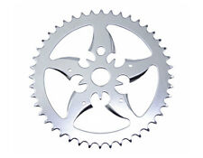 Steel Chainring Sword 44t 1/2 X 1/8 Chrome Cruiser Chopper BMX Kid Bikes 137416