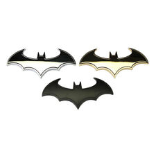1PC 3D Chrome Metal Vehicle Auto Logo Car Sticker Batman Badge Emblem Tail Decal