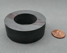 "2 pcs Ferrite Magnet Ring OD60 x ID32 x 10mm 2.4"" large grade C8 Ceramic Magnets"