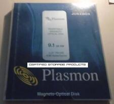 NEW Plasmon Data P9100E 9.1GB 4096b/s R/W 5.25 MO Rewritable Optical Disk C7983A