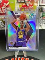 2019-20 Mosaic Karl Malone Silver Holo Prizm Hall of Fame No.284 Jazz