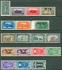 ITALY : 3 different Better Complete sets. All are PO Fresh & VF, MNH. Cat €372.