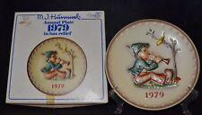 """HUMMEL GOEBEL """"1979"""" ANNUAL PLATE """" SINGING LESSON- TMK-5 # HUM 272 NIB"""