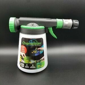 Chameleon Adaptable Hose End Sprayer, Chemical Sprayer **New** 3 Spray Patterns