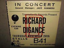 RICHARD DIGANCE In Concert RARE STILL SEALED New Vinyl LP 1975 UK TRA SAM35 Cut