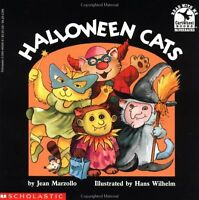 Halloween Cats (Read with Me Cartwheel Books (Scholastic Paperback)) by Jean Mar