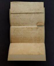 1814 Brig. General John Miller Autographed Requisition For Muskett Cartridges