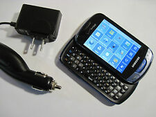 GOOD! Samsung Brightside u380 BLUE Camera QWERTY Touch Slider VERIZON Cell Phone