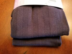 Hanes Solutions Chevron Tights In Color Black  Size Medium  Up To  6'  & 165 Lbs