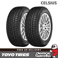 2 x Toyo Celsius All Season Road Tyres - 185 65 15 R15 88H TL