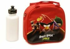 New Angry Birds Space Lunch Box Red Bag with Shoulder Strap and Water Bottle!!