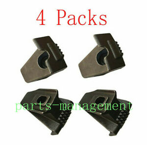 4PCS Coats Tire Changer Machine Jaw Guard Rim Clamp Motorcycle Wheel Repair Tool