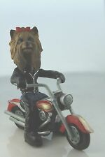 """YORKSHIRE TERRIER """" YORKIE"""" ON A MOTORCYCLE SEE ALL BREEDS & BODIES @ EBAY STORE"""