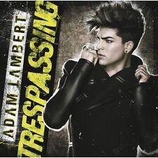 Trespassing By Adam Lambert On Audio CD Album 2012 Brand New