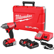 Milwaukee 2754-22CT M18 FUEL 18-Volt 3/8-Inch Compact Impact Wrench w/ Batteries