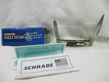 VTG. SCHRADE + UNCLE HENRY 834UH POCKET KNIFE STILL IN BOX