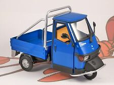 PIAGGIO APE CROSS 50 in Blue 1/18 scale model by NEWRAY
