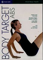 BRAND NEW DVD // FITNESS / BODY TARGET // ABS // GAIAM // RODNEY YEE, ANA CABAN