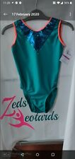 Girls Gymnastics Leotards Size 30 Bnwt By Zed's Leotards