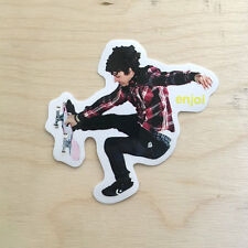 Enjoi skateboard vinyl sticker decal bumper boneless Ben Raemers CMYK SK8 color