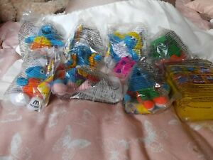 Macdonalds toys - 8 smurfs from a set of 12- original packaging