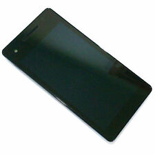 100% Genuine Sony Xperia V LT25i front+digitizer touch screen+LCD display GradeA
