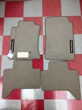 2005-2011 TACOMA DOUBLE CAB CARPET FLOOR MATS-OAK BEIGE-GENUINE TOYOTA