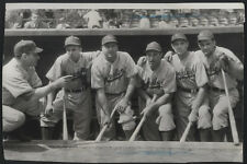 1941 Orig DODGER Wire Photo - The Dodgers' First Line Of Defense
