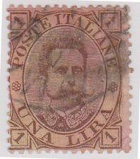 (IT31) 1889 Italy L1 Brown & Orange Umberto ow42