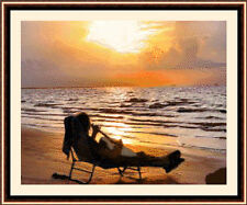 On The Beach, Cross Stitch Kit