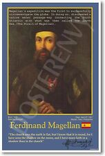 Ferdinand Magellan - Spanish Explorer - World History - Classroom New POSTER