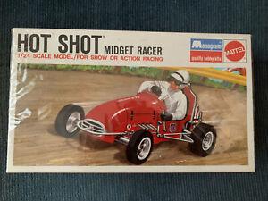 Hot Shot Midget Racer 1/24 Monogram 6730 Model Kit