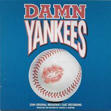 Damn Yankees 1994 Original Broadway Cast Recording 1994 Original CD Cast!
