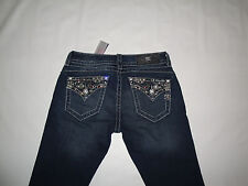 MISS ME Signature Rise Boot Cut Jeans NWT! Size 25Wx34L