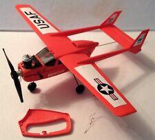 Vintage Cox Sure Flyer Skymaster Radio Control Line Gas Power Rescue Airplane