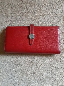 Hermès Red Wallet