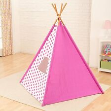 Kidkraft 00218 Teepee Polka Dot Canvas Cover In Pink For Children Ages 3 And Up