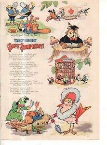 1935 Disney - Silly Symphony Cock Robin, West West from Good Housekeeping